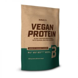 Biotech vegan protein csoki-fahéj ízű fehérje italpor 500 g