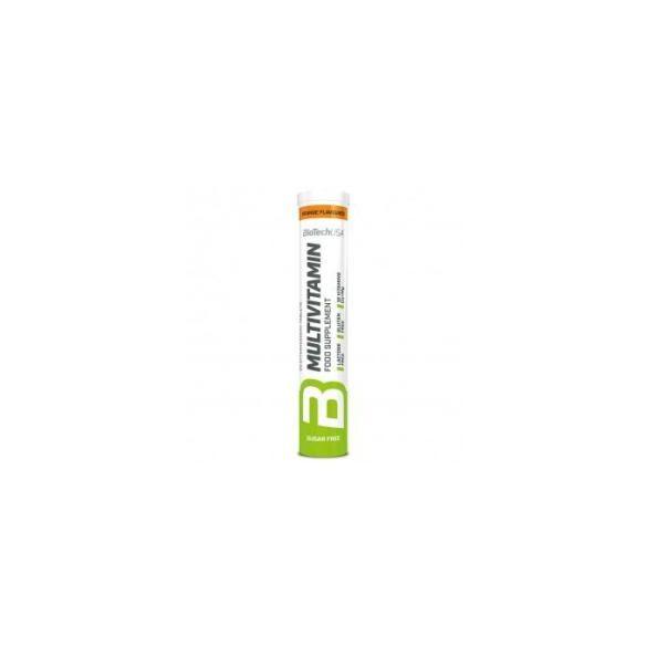Biotech multivitamin pezsgőtabletta narancs 80 g