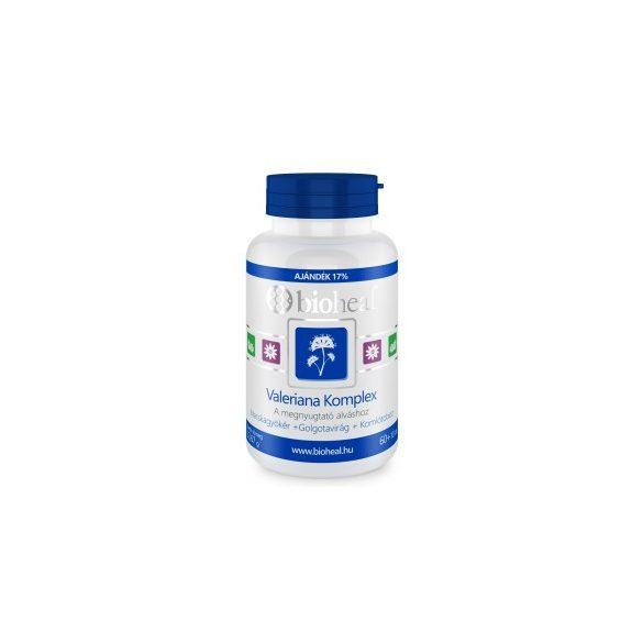 Bioheal Valeriána Komplex Tabletta 70 db