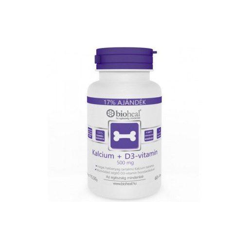 BIOHEAL KALCIUM+D3-VITAMIN TABLETTA 70 db