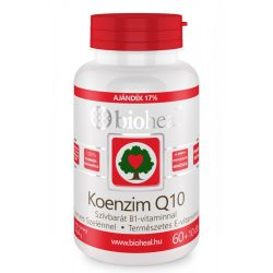 Bioheal koenzim q10 60mg szívbarát b1 vit.,szelén 70 db