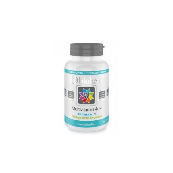 BIOHEAL MULTIVITAMIN 40+ TABLETTA 70 db