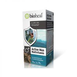 Bioheal active men multivitamin tabletta 70 db