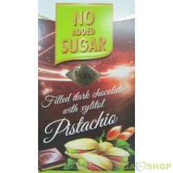 Nas pisztácia töltött étcsokoládé 80 g