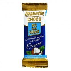 Diabette nas kókusz töltött tejcsokoládé 22 g