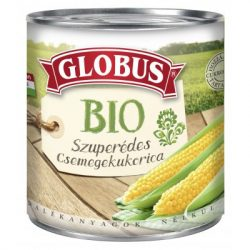Globus bio szuperédes csemegekukorica konzerv