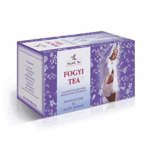 MECSEK FOGYI TEA ANANÁSZ+MATE TEA FILT.