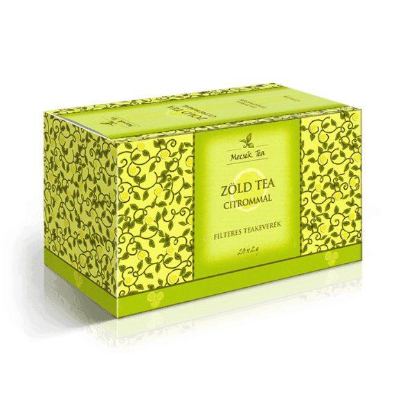Mecsek zöld tea citrommal 20x2g 40 g