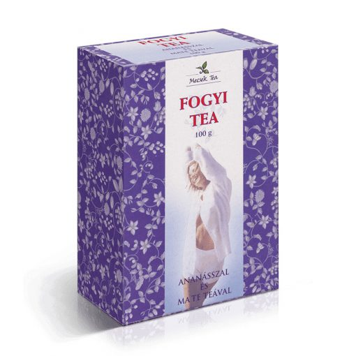MECSEK FOGYI TEA ANANÁSZ+MATE TEA 100 G