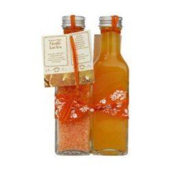 King Glass duó narancs fürdőkristály+habfürdő csomag 1 db