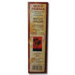 Füstölő gold prema chandan 10 db
