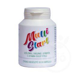 Multistart szőlőmag, oregánó, gyömbér, c-vitamin tartalmú kapszula 30 db