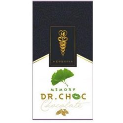 Dr.choc memory tejcsokoládé gyógynövényekkel 50 g