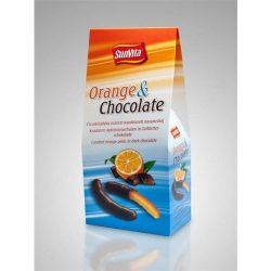 Sunvita csokoládés kandírozott narancshéj 150 g