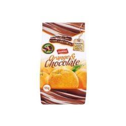 Sunvita csokoládés kandírozott narancshéj 90 g