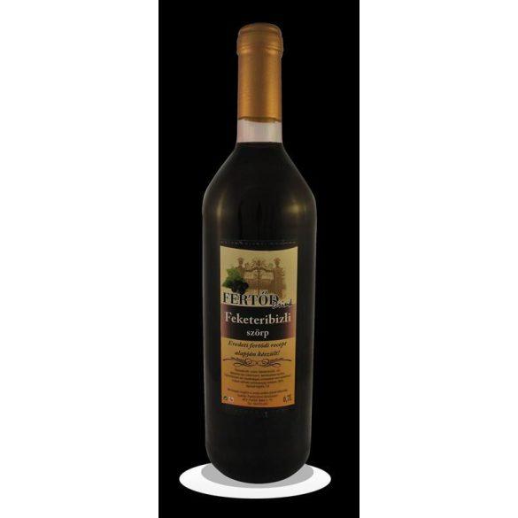 Fertőd drink feketeribizli szörp 700 ml