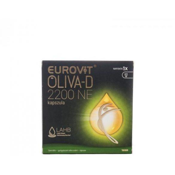 EUROVIT OLIVA-D 2200 NE KAPSZULA 60 db
