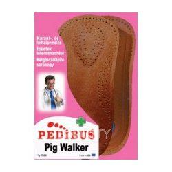 Pedibus talpbetét bőr pig walker 35/36 3/4
