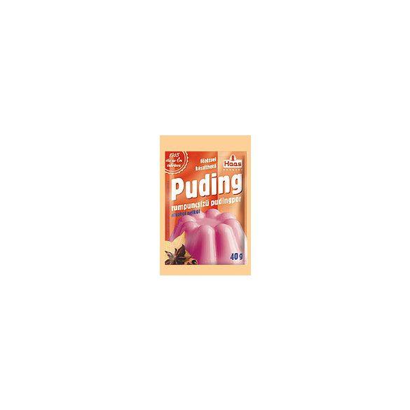Haas natural pudingpor puncs 40 g