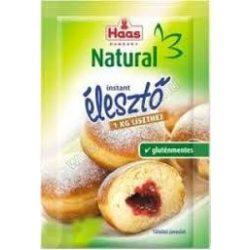 Haas natural instant élesztő 7 g