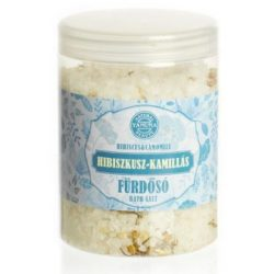 Yamuna fürdősó tégelyes hibiszkusz-kamilla 1000 g
