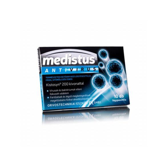 Medistus antivirus lágypasztilla 10 db