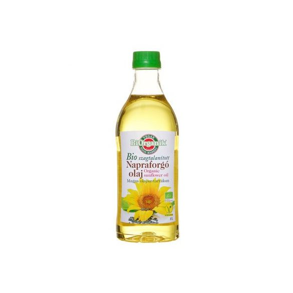 Biorganik bio napraforgó olaj 1000 ml