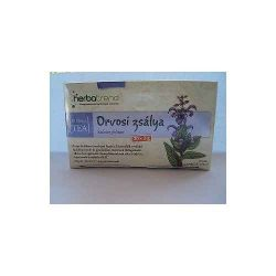 Herbatrend Orvosi Zsálya Filteres Tea 20 filter