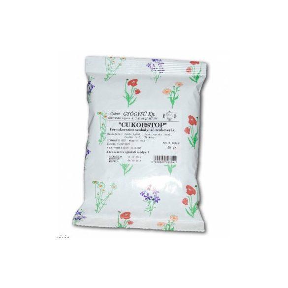 Gyógyfű cukorstop vércukorszint szabályozó teakeverék 50 g