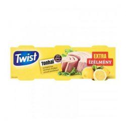 Twist tonhaltörzs növényi olajban citrom 3x80g 240 g