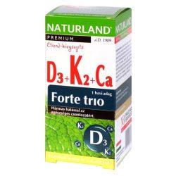 Naturland d3+k2+ca forte trio 30 db
