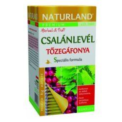 Naturland csalánlevél tőzegáfonya tea 20x1,2g 24 g