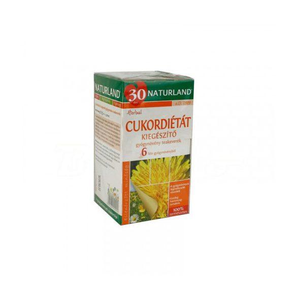 Naturland cukordiétát kiegészítő teakeverék 30 g
