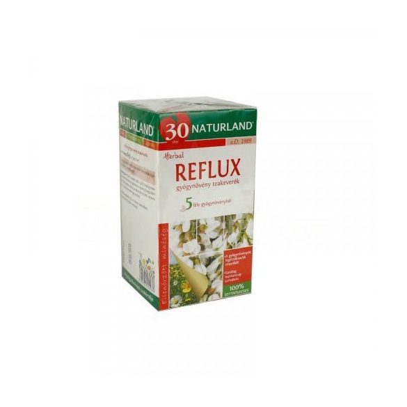 NATURLAND REFLUX TEA 20 filter