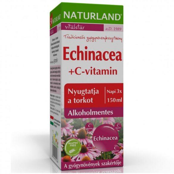 Naturland echinacea+c-vitamin szirup 150 ml