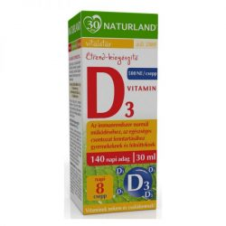 Naturland D3-vitamin csepp 30 ml