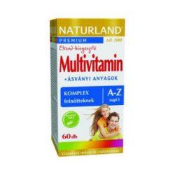 Naturland Multivitamin A-Z Tabletta 60 db
