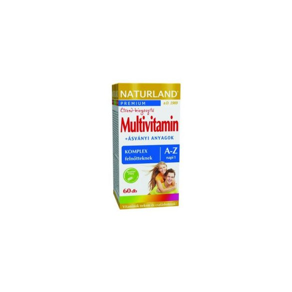 NATURLAND MULTIVITAMIN A-Z TABLETTA