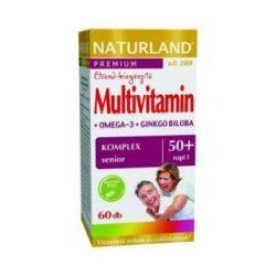 Naturland multivitamin 50+ lágyzselatin kapszula 60 db