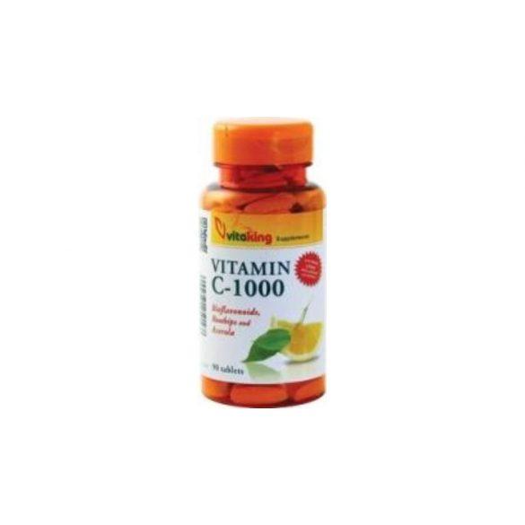Vitaking c-vitamin 1000mg bioflavin+acerola+csipkebogyó tabl 90 db