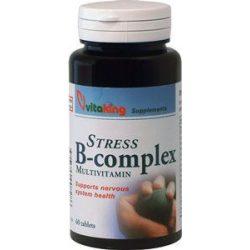 Vitaking stressz b-complex tabletta 60 db