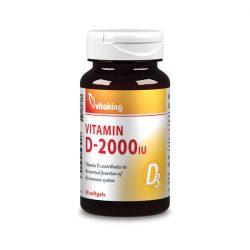 Vitaking vitamin d-2000 iu lágyzselatin kapszula 90 db