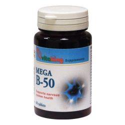 Vitaking b-50 vitamin tabletta 60 db