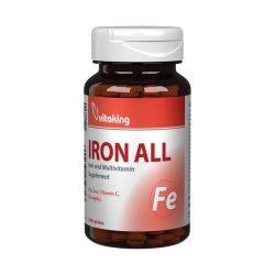 Vitaking vas-komplex tabletta 100 db