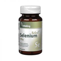 Vitaking selenium 100mg kapszula 90 db