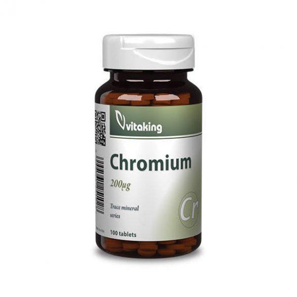 Vitaking Króm Pikolinát 200Mg Tabletta 100 db