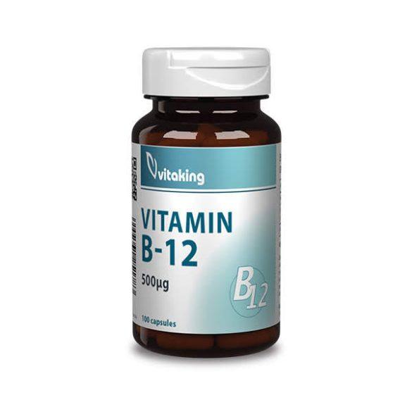 Vitaking B12-Vitamin Kapszula 500Mg 100 db
