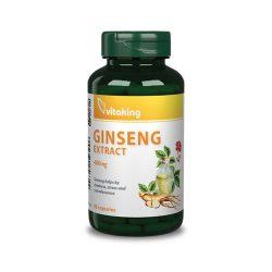 Vitaking ginseng extract 400 mg 90 db