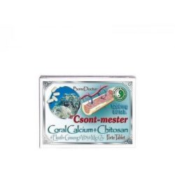 Dr.chen csont-mester coral calcium forte tabletta 80 db