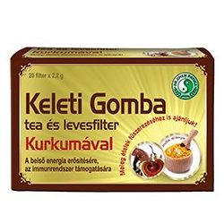 Dr.chen keleti gomba tea és levesfilter kurkumával 20x2,2g 44 g